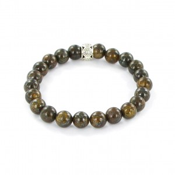 Bracelet Göshö [Vitalisant] Bronzite - Bracelet en pierres naturelles
