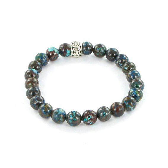 Bracelet Göshö [Purifiant] Chrysocolle - Bracelet pierres naturelles