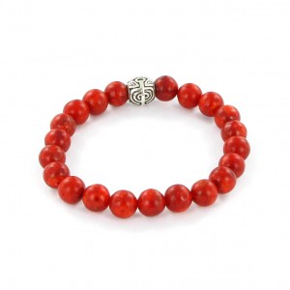Bracelet Göshö [Cauchemar] Corail éponge - Bracelet pierres naturelles
