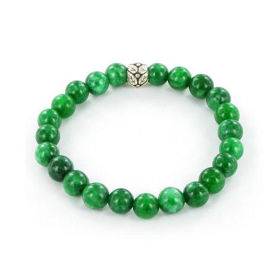 Bracelet Göshö [Honnêteté] Jade vert - Pierres naturelles