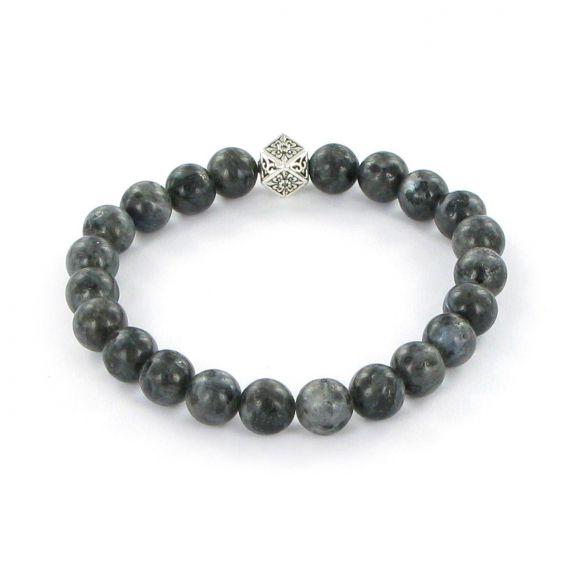 Bracelet Göshö [Bien-être] Labradorite noir - Bracelets en pierres naturelles