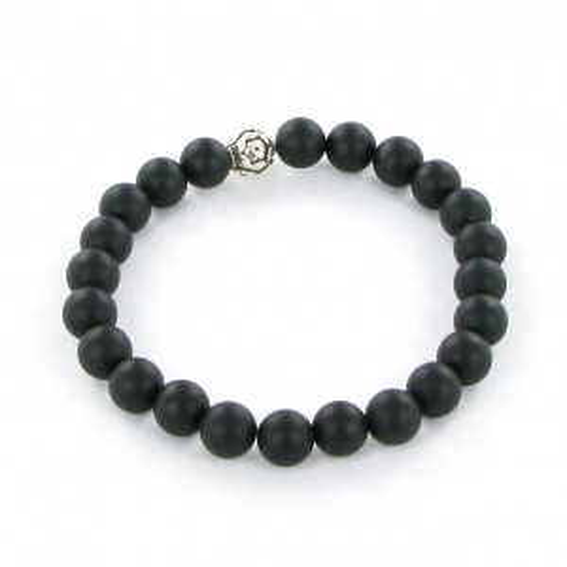 Göshö - [Strength] Onyx matt black - Bracelet Gosho