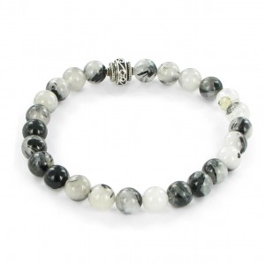 Göshö - [Separation] Black Quartz Rutil - Bracelet Gosho
