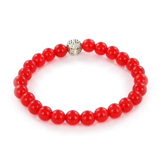 Göshö - [Trauma] Rubilite red Agate - Bracelet Gosho
