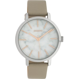 Montre Oozoo Timepieces C10112 light taupe - Marque montre Oozoo