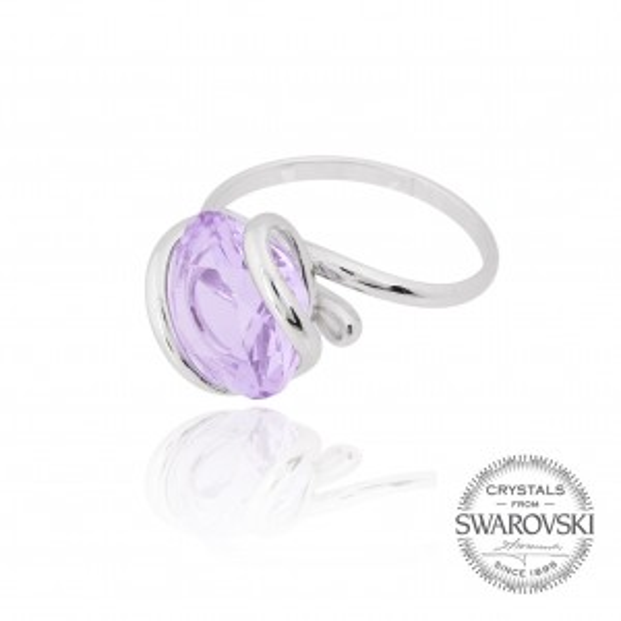 Andrea Marazzini bijoux - Bague cristal Swarovski lila