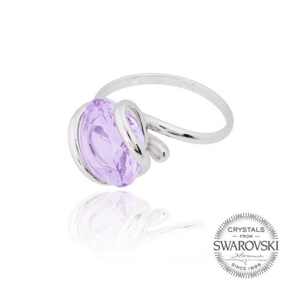Marazzini - Swarovski lila ring
