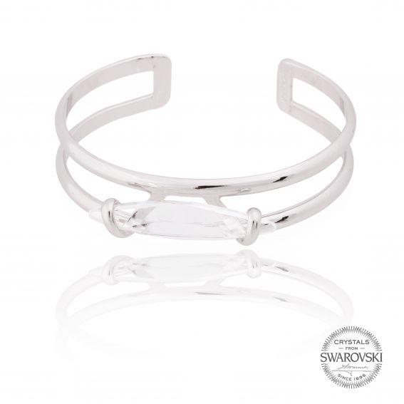 Andrea Marazzini bijoux - Bracelet cristal Swarovski navette