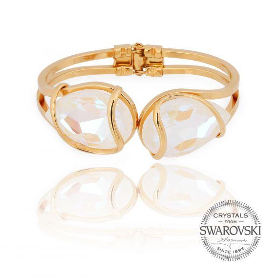 Marazzini - Swarovski crystal bracelet white delite
