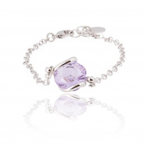Andrea Marazzini bijoux - Bracelet cristal Swarovski lila