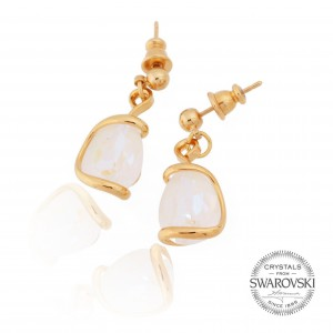 Marazzini - Earrings Swarovski white delite