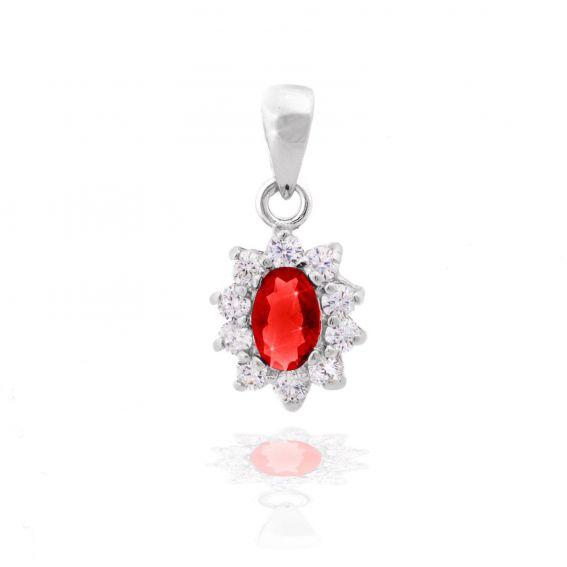 Diana sapphire pendant
