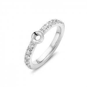Melano - Bague Twisted Twisted cristal TR17 - Marque Melano