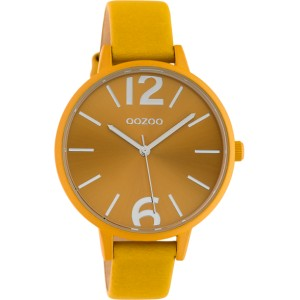 Montre Oozoo Timepieces C10440 mustard yellow - Marque montre Oozoo