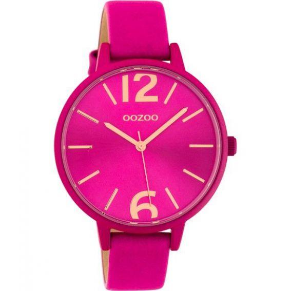 Montre Oozoo Timepieces C10443 fuchsia - Marque montre Oozoo