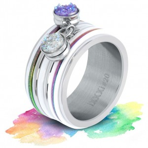 Pack iXXXi - Bague Rainbow dancing