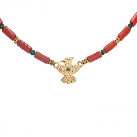 Collier Hipanema Mexicana Terracotta - Bijoux de marque Hipanema