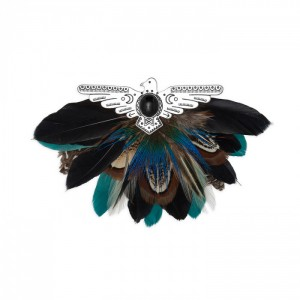 Aquila Black brooch