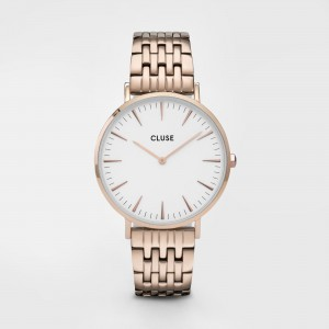 CLUSE - CW0101201024 - La Bohème Multi-Link Rose Gold White/Rose Gold