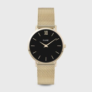 Watch CLUSE - Midnight Mesh rose gold / black
