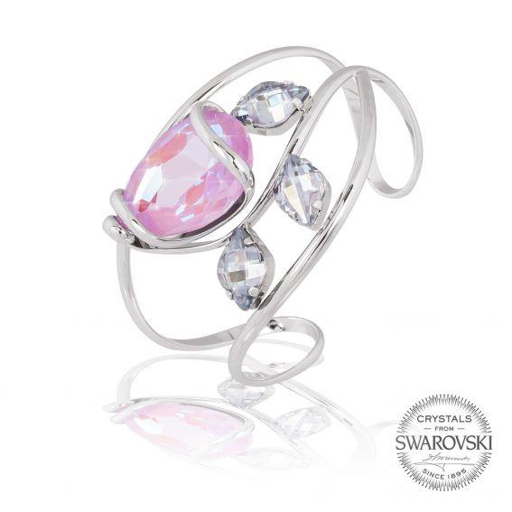 Bracelet crystal emerald Swarovski