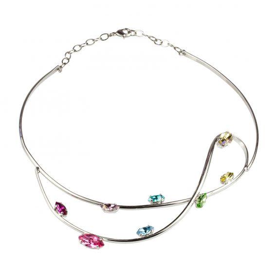 Collier Andrea Marazzini L.A. - Bijoux cristal Swarovski