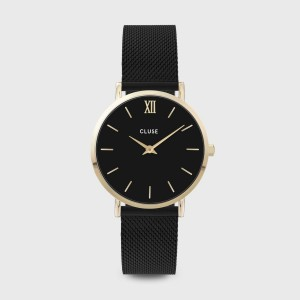 CLUSE Watch - Midnight Mesh Black / Black