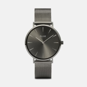 Watch CLUSE - The bohemian black Full Mesh
