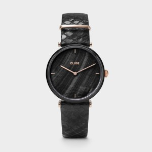 Watch CLUSE - Triumph Gold Mesh Black / Black