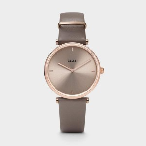 Montre CLUSE - Triomphe Rose Gold Soft Taupe - CW0101208010