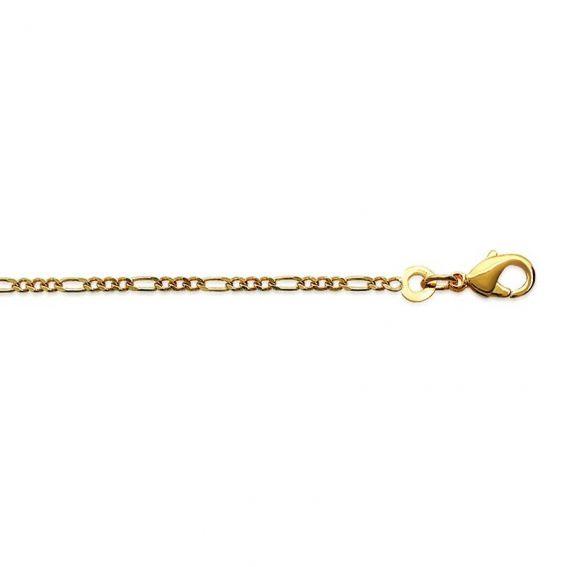 Chaine Figaro 1-3 doré