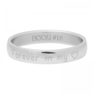 iXXXi - Forever in my heart silver