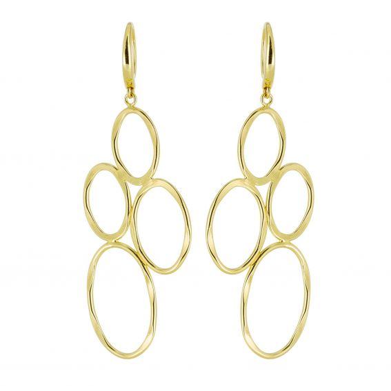 Bijou en argent - golden round Hooks