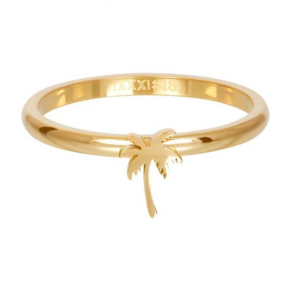 Anneau symbole palmier argenté - R3509-01 - Bijoux de marque iXXXi