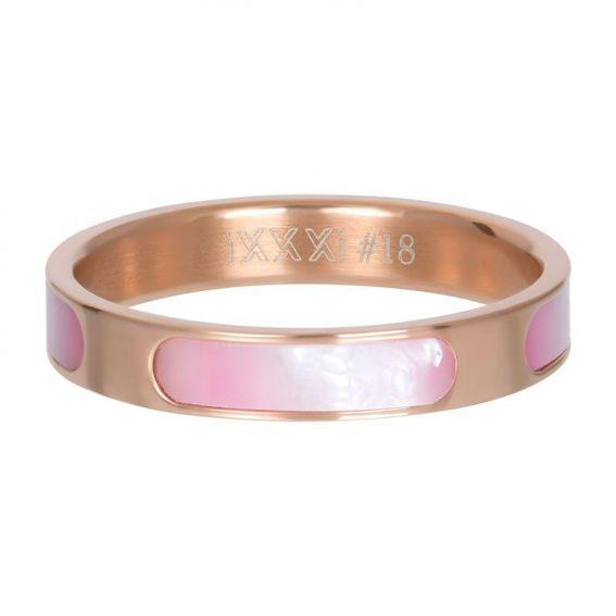 Anneau couvrant Aruba rosé - Bijoux & bague de la marque iXXXi