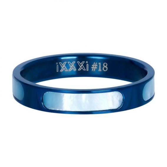 Anneau couvrant Aruba bleu - Bijoux & bague de la marque iXXXi