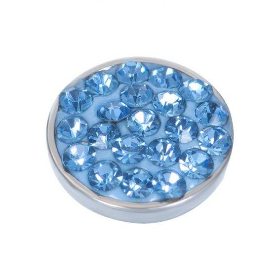 Top part iXXXi pavé de pierres bleu clair - Bijoux de marque iXXXi