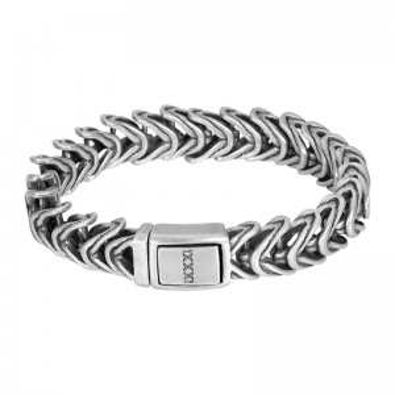 Bracelet iXXXi pour homme Haiti argenté - Marque iXXXi
