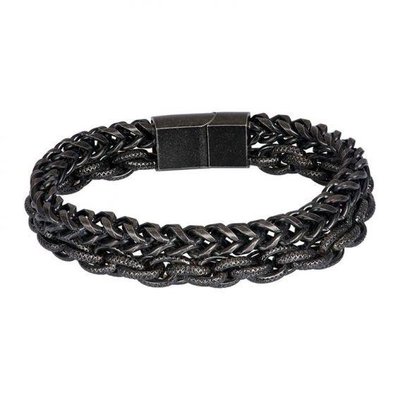 Bracelet iXXXi pour homme Hawaii noir - Marque iXXXi