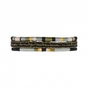 Claude Khaki Men's Bracelet