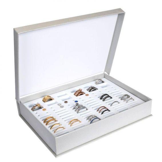 Boîte de rangement iXXXi taille XL avec top parts pour vos bagues ixxi
