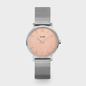 CLUSE Watch - Midnight Mesh Gold Stone Green