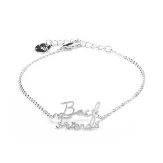 Bracelet 7bis best friends argenté