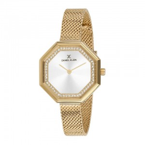 Watch Daniel Klein - Leather and yellow