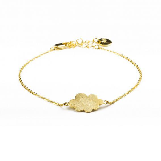 Bracelet 7bis nuage doré