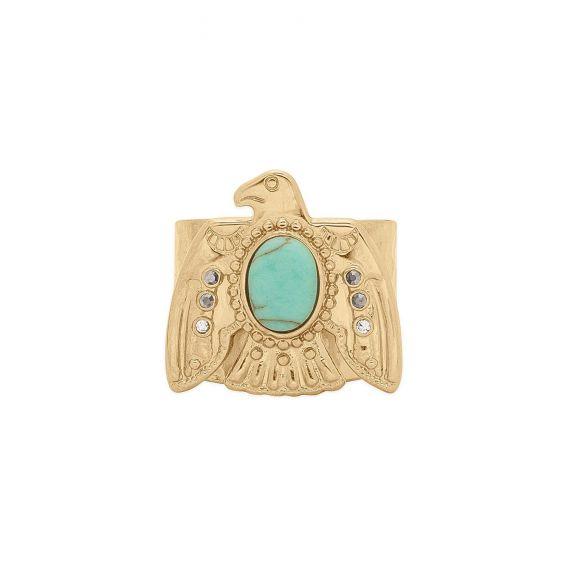 Gotika Amber Ring