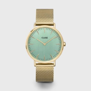 Watch CLUSE - Midnight Mesh gold / white