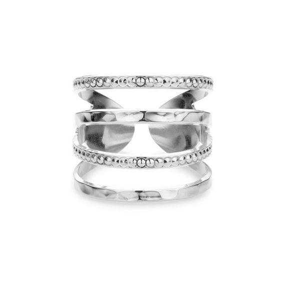 Mya Bay - New York hammered Ring