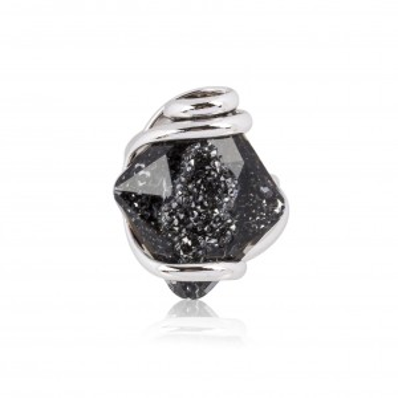 Moondust Black Ring