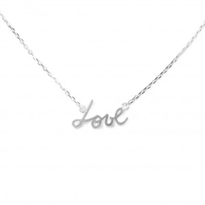 Collier 7bis love (amour) argenté